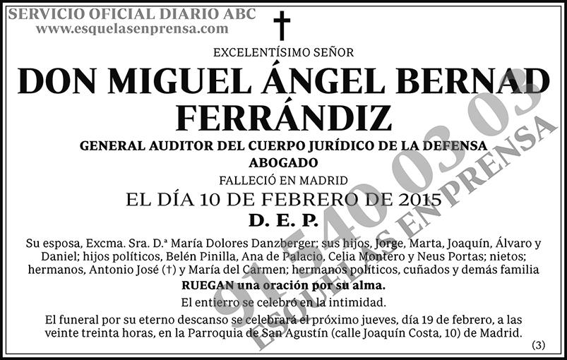 Miguel Ángel Bernad Ferrándiz